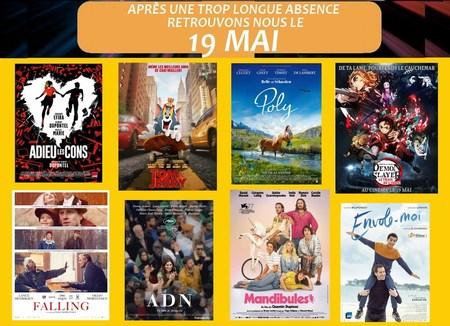 réouverture cinéma